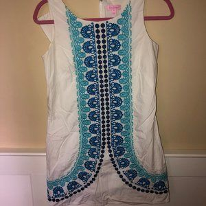 LILLY PULITZER - Embroidered Nautical Dress